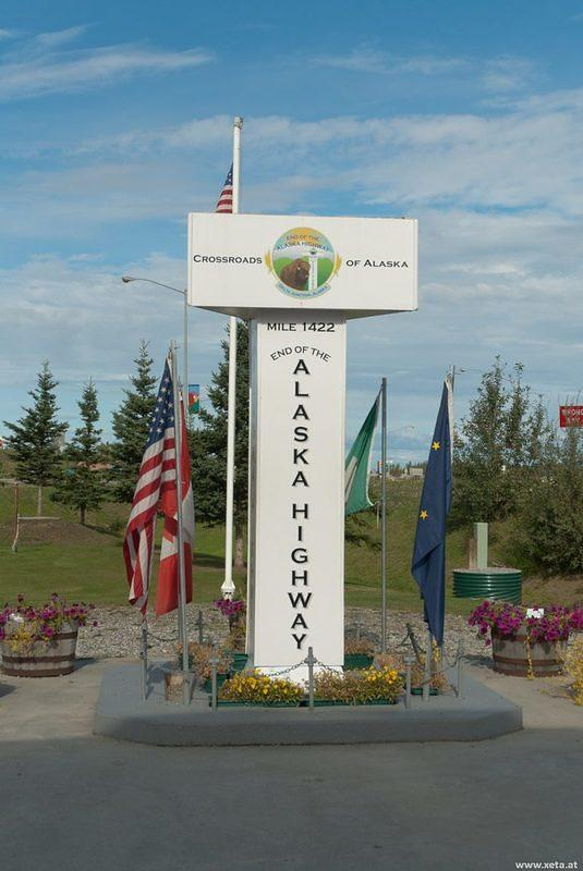 DSA 9860 Alaska Delta Junction Alaska Highway USA