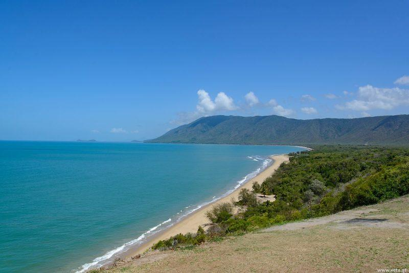 DSN 8657 Meer Strand Australien Queensland Rex Lookout Captain Cook Highway