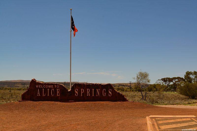 DSN 8893 Australien Northern Territory Alice Springs Red Centre