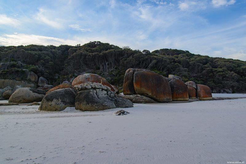 DSO 0082 Meer Strand Victoria Australien Wilsons Promontory National Park Squeaky Beach