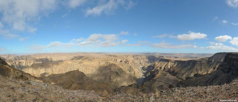 DSI 4519 stitch Panorama Pano Namibia Fish River Canyon Ai-Ais Richtersveld Transfrontier Park Fischfluss-Canyon