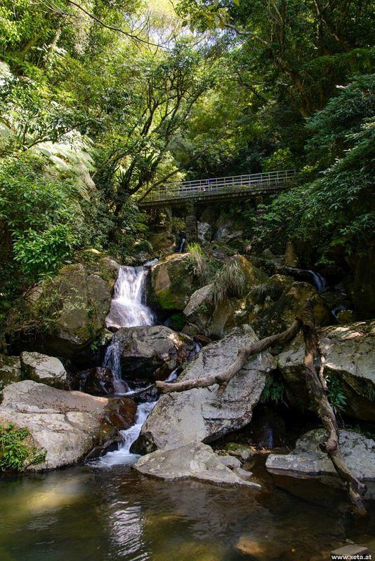 DSN 7817 Wasserfall Republik China Taiwan Yangmingshan Nationalpark Datun Falls
