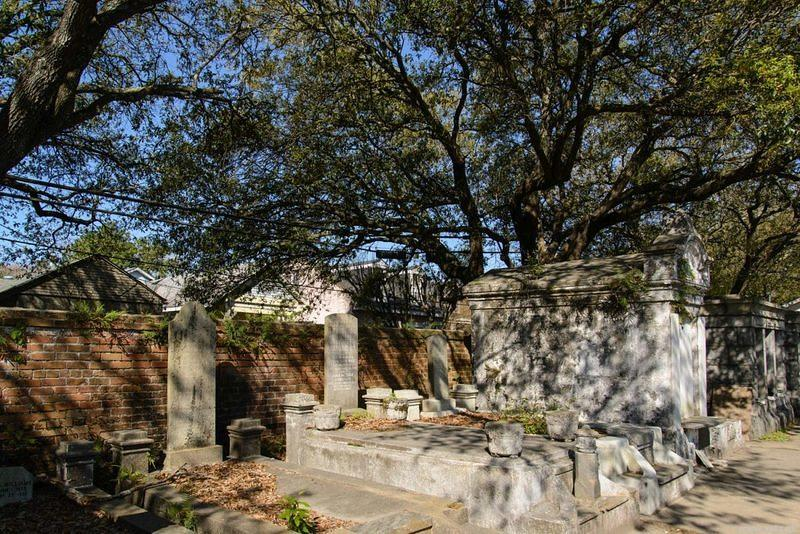 DSM 6818 USA Friedhof Louisiana New Orleans Cemetery Lafayette Cemetery No. 1
