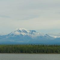 DSA 8989 Alaska Mount St. Elias USA Richardson Highway