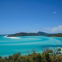 DSN 8380 Meer Strand Australien Queensland Whitsunday Islands Great Barrier Reef Hill Inlet