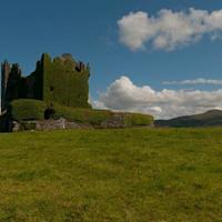 DSH 9405 Irland Ring of Kerry Ballycarbery Castle
