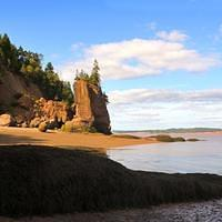 DSH 3886 hdri Kanada New Brunswick Bay of Fundy Hopewell Rocks