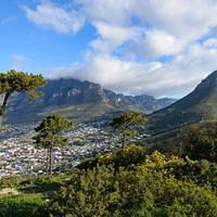 DSN 2489 Afrika Tafelberg Kapstadt Signal Hill Table Mountain Suedafrika