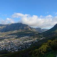DSN 2503 Afrika Tafelberg Kapstadt Signal Hill Table Mountain Suedafrika
