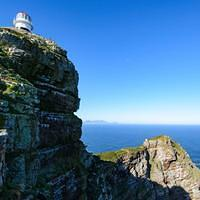 DSN 2605 Afrika Leuchtturm Lighthouse Cape Peninsula Kap-Halbinsel Cape Point Cape Point National Park Suedafrika