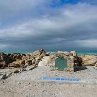 DSN 3324 Afrika Agulhas National Park Cape Agulhas Southernmost Tip Of Africa Suedafrika