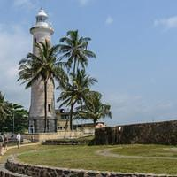DSM 1874 Leuchtturm Ceylon Sri Lanka Dutch Fort Galle Galle Fort Ramparts of Galle