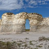 DSO 3895 USA Kansas Monument Rocks Chalk Pyramids Gove County