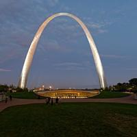 DSO 4018 USA Missouri St. Louis Gateway Arch Jefferson National Expansion Memorial