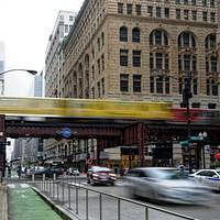 DSO 4354 USA U-Bahn Subway Illinois Chicago Chicago Elevated