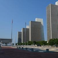 DSK 8843 USA Eastcoast Albany New York State Empire State Plaza Ostkueste