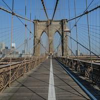 DSK 9151 USA Eastcoast New York State Manhattan New York City Brooklyn Bridge Ostkueste