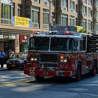 DSK 9203 USA Eastcoast New York State Manhattan New York City New York City Fire Department Ostkueste