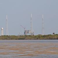 DSH 5856 USA Florida Cape Canaveral Canaveral National Seashore Playlinda Beach Launch Facility