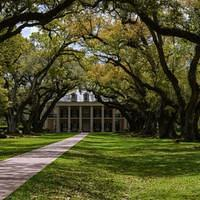 DSM 6956 USA Louisiana Plantage Plantation Oak Alley Plantation Vacherie