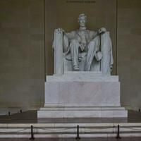 DSN 0712 USA District of Columbia National Mall Lincoln Memorial Washington DC