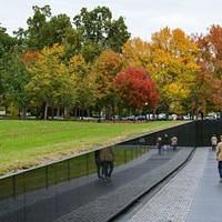 DSN 0723 USA District of Columbia National Mall Vietnam Veterans Memorial Washington DC