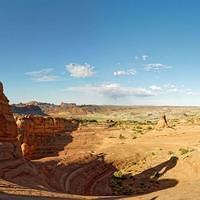 DSO 3389-3396 Pano USA Panorama Utah National Park Arches National Park Delicate Arch