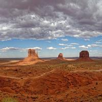 DSO 3442-3453 Pano USA Panorama Utah Monument Valley